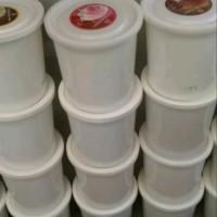 Ember bulat bekas es krim ice cream 8 liter