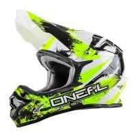 Helm Cross Oneal 3 Series Shocker Black Neon Yellow Size L