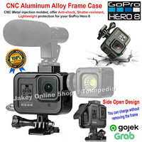 CNC Aluminum Alloy Metal Frame Protective case GoPro Hero 8 Black