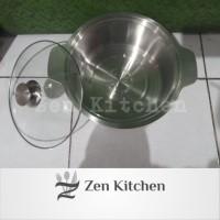 Panci Shabu Hot Pot Panci Sayur Stainless 28cm