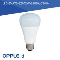 OPPLE LED BULB E1 A70 E27 12W 6500K CT V6