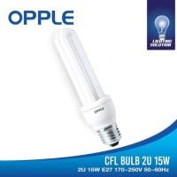 OPPLE CFL 2U-15W 6500K