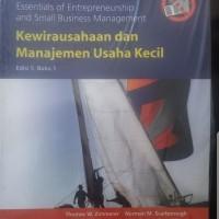 Kewirausahaan dan manajemen usaha kecil edisi 5 buku 1 by Zimmerer
