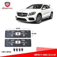 ARGENTO Tatakan Plat Nomor Mobil Kualitas OEM For MERCY AMG GLA 45