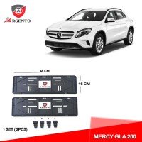 ARGENTO Tatakan Plat Nomor Mobil Kualitas OEM For MERCY GLA 200