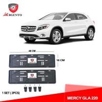 ARGENTO Tatakan Plat Nomor Mobil Kualitas OEM For MERCY GLA 220