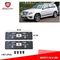 ARGENTO Tatakan Plat Nomor Mobil Kualitas OEM For MERCY GLK 280