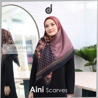 Jual Kerudung Segi Empat Deenay Original Jilbab Voal Motif Aini Terbaru Kota Bandung Ozinstore Tokopedia