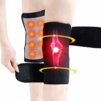 Deket Penyangga Pelindung Lutut Alat Terapi Magnetik