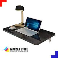 Promo Meja Lipat Dinding / Meja Komputer Panjang 60 cm x Lebar 50 cm