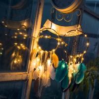 Berburu Diskon Hiasan Gantung Dream Catcher 2 Meter Dengan Lampu LED