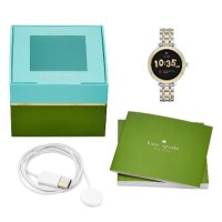 Ready Kate Spade KST2007 Two -Tone Stainless Steel Scallop Smart