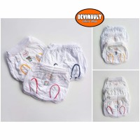 Celana pop Usagi bintik isi 1 lusin Celana bayi