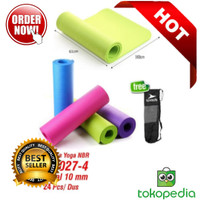 Matras Yoga Mat Speeds NBR 183 x 61CM 10MM