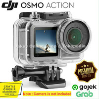 UNDERWATER WATERPROOF CASE for DJI Osmo Action Camera Protective Shell