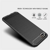 IPHONE 7 8 7 8 PLUS Fiber line Soft Back Case Cover Pelindung elegan