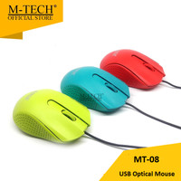Mouse Optical USB M-Tech MT-08 Candy Series Kabel