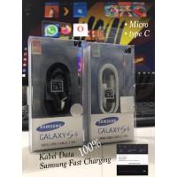 KABEL DATA SAMSUNG S6/S8 100% TYPE C CABLE DATA KABEL USB
