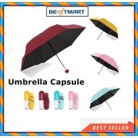 Payung Lipat Mini Umbrella Capsule Anti UV