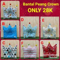 bantal peang baby model crown