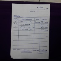 orderan khusus via tokopedia // kak Andriyani