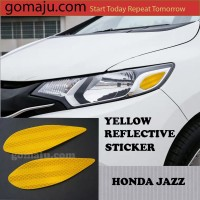 REFLECTIVE STICKER HONDA JAZZ GK5 2014-2018 AKSESORIS STIKER JAZZ