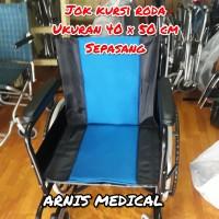 Jok kursi roda original warna,sparepart kursi roda