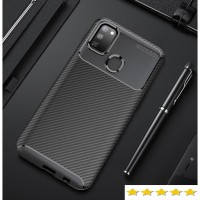 Softcase Slim Carbon Samsung Galaxy A71 Premium Quality