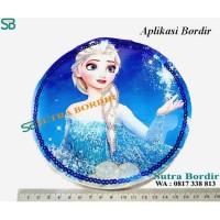 Aplikasi Bordir Karakter Princess Frozen Aplikasi Bordir Komputer