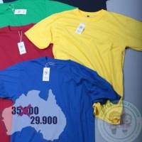 Kaos Polos Distro Baju Pria Cotton Combed 30s Premium Asli