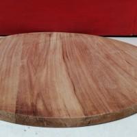 Top Table Lingkaran Kayu Diameter 50CM