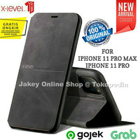 X-LEVEL EXTREME iPhone 11 Pro Max / 11 Pro Flip Leather case cover hp