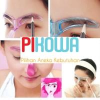 Cetakan Alis // Alat bantu makeup kit // Eyebrow Template