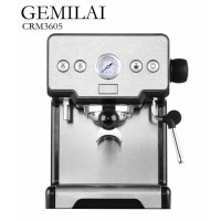 Espresso machine mesin kopi espresso CRM 3605 GEMILAI 15 Bar Powerful