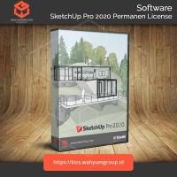 SketchUp Pro 2020 License Permanen Original