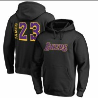 Hoodie Baju hangat Le Bron 23 La Lakers