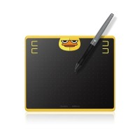 HUION HS64 CHIPS & Co Pen Tablet support HP Android For Drawing