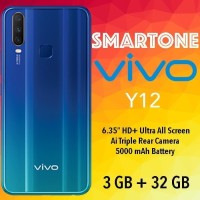 VIVO Y12 3/32 GB RAM 3GB ROM 32GB - GARANSI RESMI VIVO INDONESIA