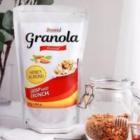 Healthy Granola HONEY ALMOND 500g, CRUNCHY!