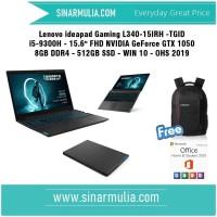 LENOVO Gaming L340 -TGID i5-9300H - 512 GB SSD -GTX 1050 8GB OHS 2019