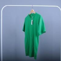 Kaos Polos Cotton Combed Premium Hijau