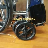 roda kecil depan kursi roda diameter 20 cm,sparepart kursi roda
