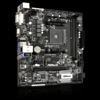 Ready Stock ASRock Motherboard A320M-HDV