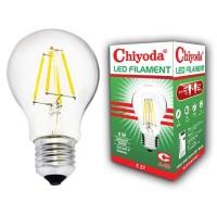 LAMPU LED FILAMEN CHIYODA A60 4W CLEAR WW/KUNING