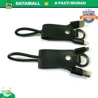 Kabel Charger Keychain Lightning & Micro USB