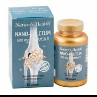 NATURES HEALTH NANO CALSIUM 600 MG PLUS VITAMIN D3 ISI 60