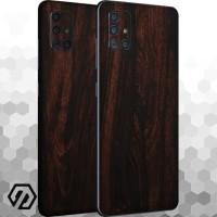 [EXACOAT] Galaxy A71 3M Skin / Garskin - Wood Mahogany