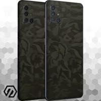 [EXACOAT] Galaxy A71 Skins 3M Skin / Garskin - Green Camo