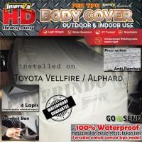 COVER IMPREZA HD TOYOTA ALL NEW ALPHARD /VELLFIRE 100% OUTDOOR 4 LAPIS