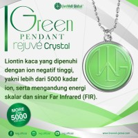Green Pendant Rejuve Crystal